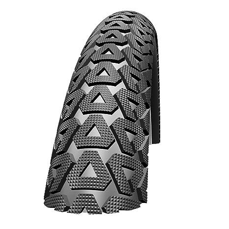 Schwalbe Cubierta para rueda de bicicleta BMX, tamaño 20x2.10, color negro