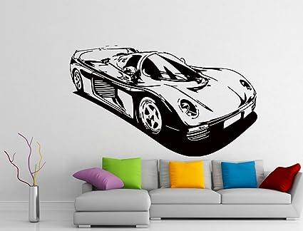 Wall Decals Formula 1 Racing Sport Car Decal Vinyl Sticker Le Mans