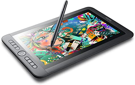 Parblo Coast13 13.3 Inches Graphic Drawing Monitor with 8192 Levels Battery-Free Stylus, USB Type C Cable, Drawing Tablet Display Monitor for Digital Art Work, Drawing, Design, Sketch, Paint