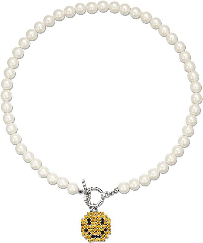 Earth collection \u2022 Polymer clay halo pendant necklace\u2022 Minimalistic necklace \u2022 Ready to ship \u2022 1.5\u201dDIA