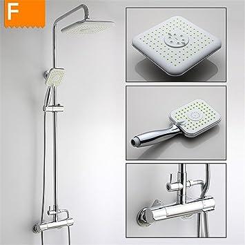 WHLHS Dusche Und Fußbodenheizung Im Badezimmer Smart Kit ...