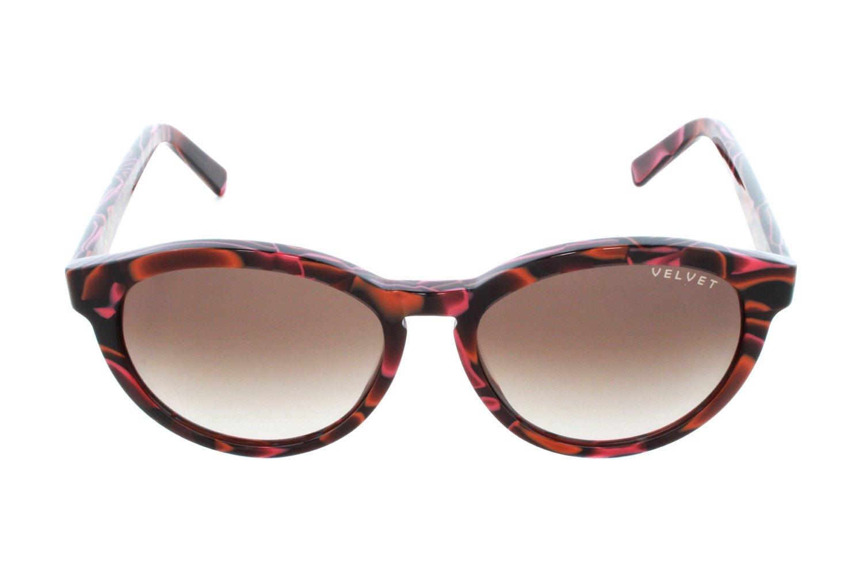 3dc84a3f3e Amazon.com  Velvet Eyewear Bella Red Lava Sunglasses - Brown Fade  Beauty