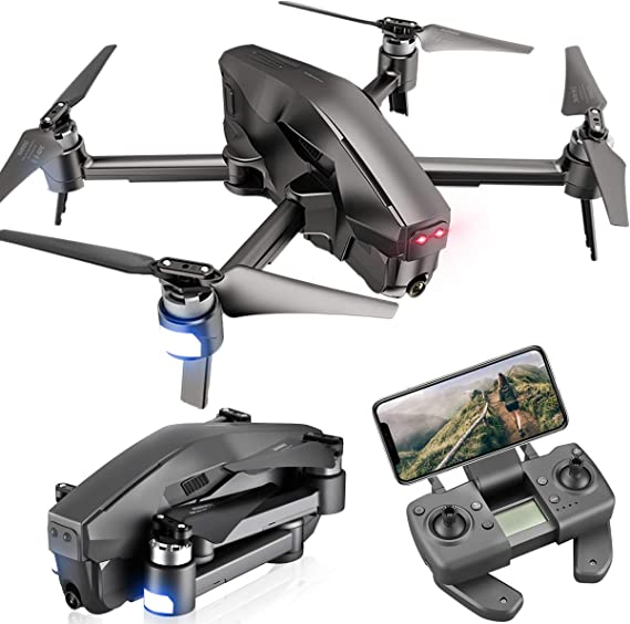 4DRC M1 Foldable GPS Drone with 4K FHD 5G transmission FPV Camera Live Video for Adults Quadcopter with Brushless Motor
