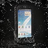 Note 2 Waterproof Case, Easylife® Samsung Galaxy