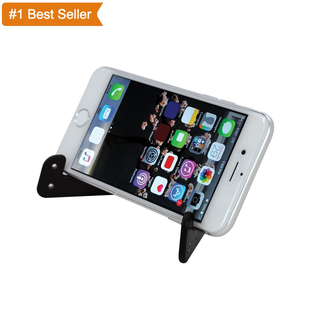 Audiology Connect Universal Foldable Tablet & Smartphone Multi-Angle Adjustable Stand, Tablet Stand (6-11 inch), Cell Phone Stand for iPhone ...