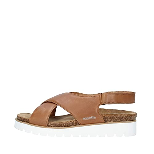 d596dd0f46 MOBILS by MEPHISTO Tally Classic Women's Sandals with Removable Cork  Footbed Cigale 2635 Hazelnut Size: