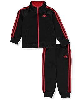 meet be002 66a9b adidas Boys  Tricot Jacket and Pant Set