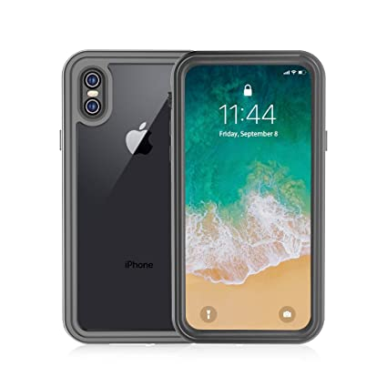 online store aff7f 41605 Transy iPhone X Waterproof Case, Waterproof Full-Body Protective and  Snowproof Shockproof Dirtproof IP68 Certified Waterproof Design for Apple  iPhone ...