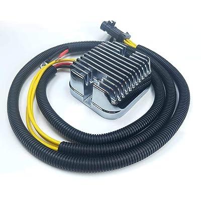 Li Bai Voltage Regulator Rectifier For Polaris Scrambler Sportsman X2 HO 2016 2015 2014 2013 2012 2011 2010 1000 850 550 OEM Repl 4012678 UTV Ranger RZR XP 900: Automotive