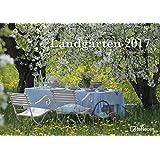 Landgärten 2017 - Wandkalender, Bildkalender, Naturkalender, Gartenkalender, Spiralbindung - 42 x 29,7 cm