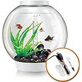 BiOrb Classic 60L Aquarium in White with MCR LED Lighting & Heater Pack