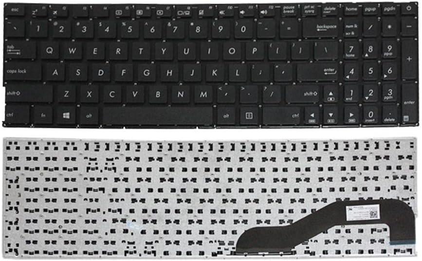 Looleking US Black English Laptop Keyboard for Asus X540L X540S X540 X540LA MP-13K93US-G50 0KNB0-610TUS00