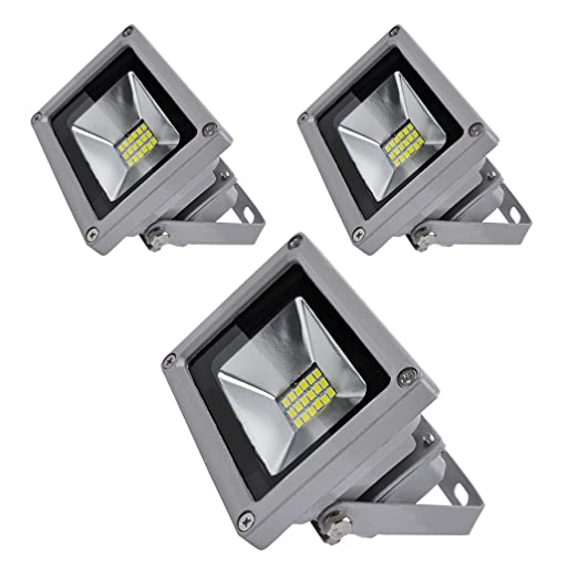 PrimLight Foco Led Exterior 3X 20W,SMD Proyector Led ...