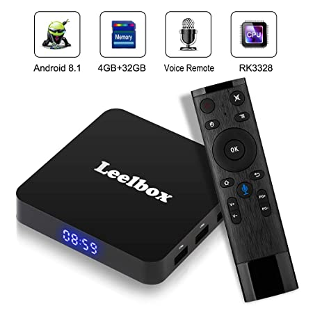 18446b8ba328 leelbox Q3 Android TV Box 2 GB RAM + 16GB ROM Smart TV  Amazon.co.uk   Electronics