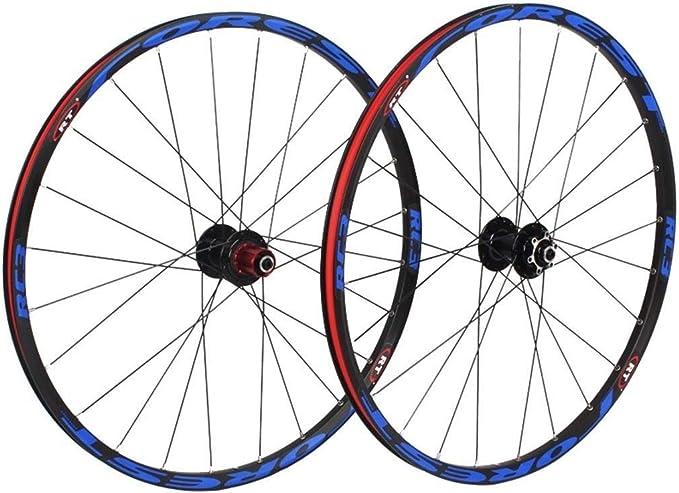 LHHL MTB Rueda Delantera Y Trasera Bicicleta 26/27.5 Pulgadas ...