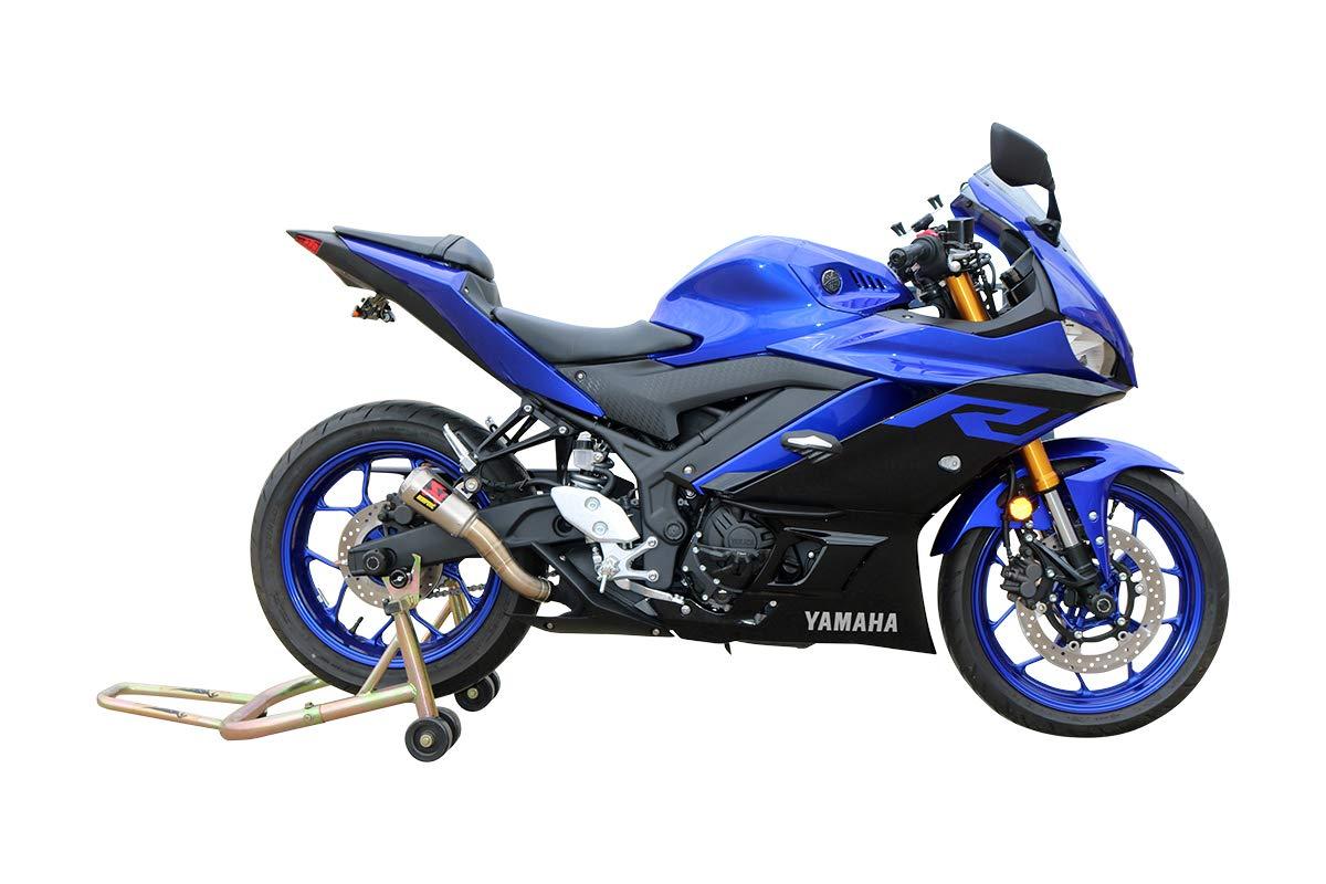 T-Rex Racing No Cut Frame Sliders for Yamaha 2019 YZF-R3 Aluminum