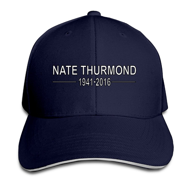 FOODE Nate Thurmond 1941-2016 Peaked Baseball Cap Snapback Hats