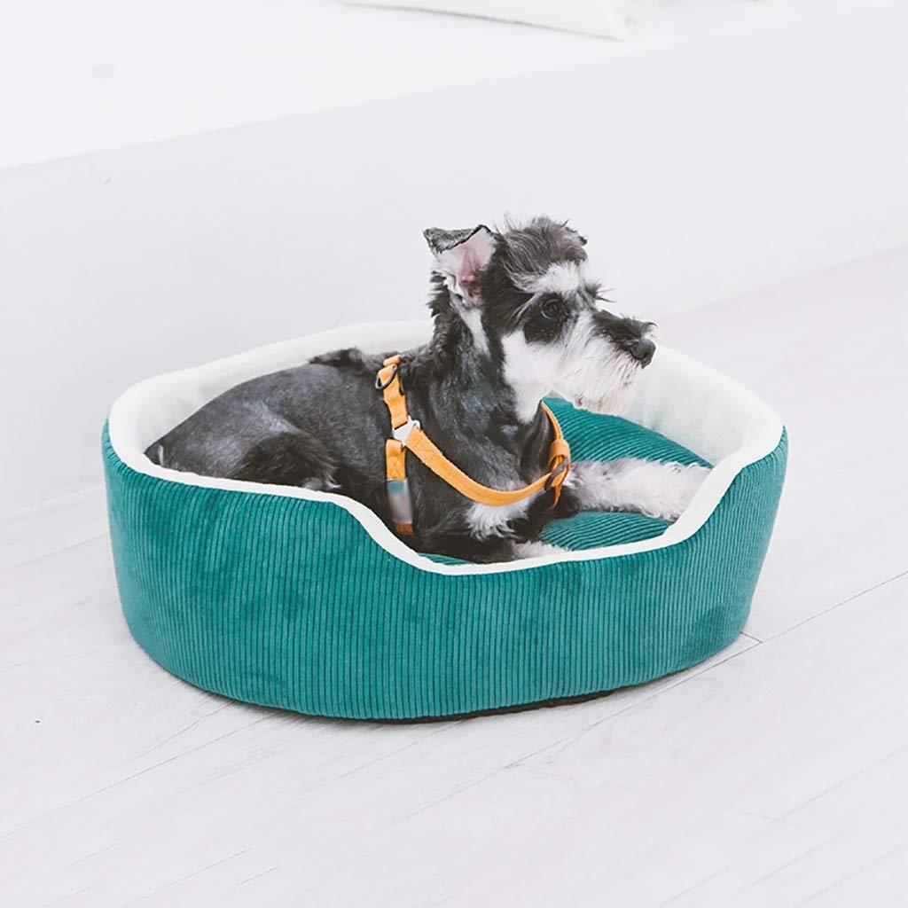 Casa para Mascotas Caseta para nidos de Gatos Perro pequeño Cama para Mascotas Nido para Mascotas Estera para Mascotas Suave y cómodo Cuatro Estaciones ...