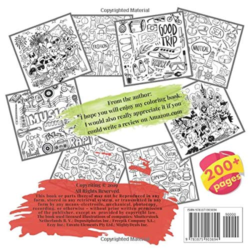 Oversized Coloring Book France, Toddler, Dog, Woodland Creatures, Swearing, Superhero, Tattoo, Forest, Fast Food, Farm, Bear, Calming, Hedgehog, Fox and others. Large 200+ pages. Big size 8,5×8,5 in. Made in USA Jumbo Coloring Book Doodle