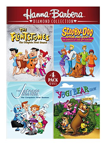 Hanna-Barbera Diamond Collection 4-Pack (Best Of Warner Bros 25 Cartoon Collection)