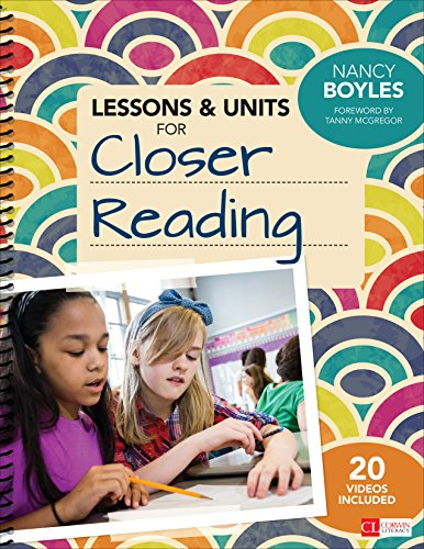 Download Lessons and Units for Closer Reading: Ready-to-Go Resources and Planning Tools Galore Pdf