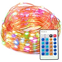 TaoTronics Dimmable Waterproof 100 LED String Lights with Remote