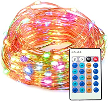 TaoTronics Dimmable Waterproof 100 LED String Lights