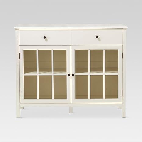 Amazon.com: Windham - Buffet de 2 puertas, armario con ...