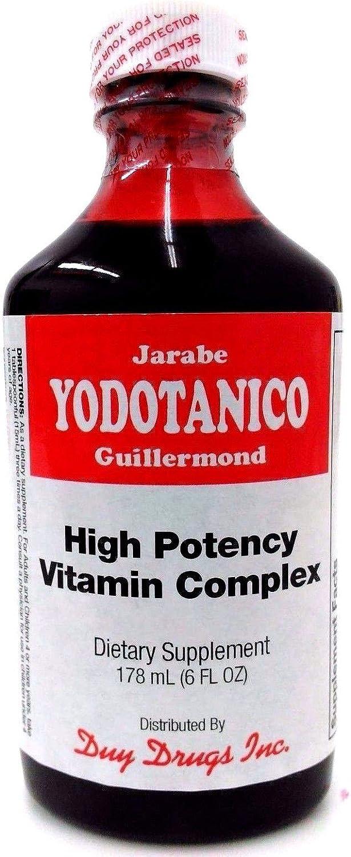High Potency Vitamin Complex Jarabe Yodotanico