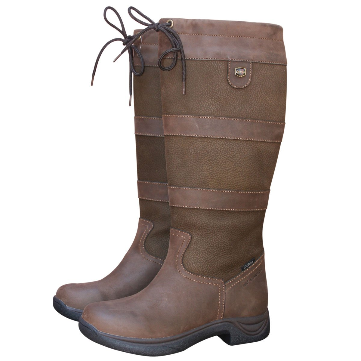 DUBLIN RIVER BOOTS I CHOCOLATE LADIES 11 WIDE