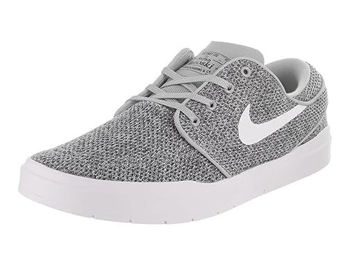 new concept ddf92 1fa20 Nike SB Stefan Janoski Hyperfeel Mens Trainers Grey White - 9.5 UK   Amazon.co.uk  Shoes   Bags