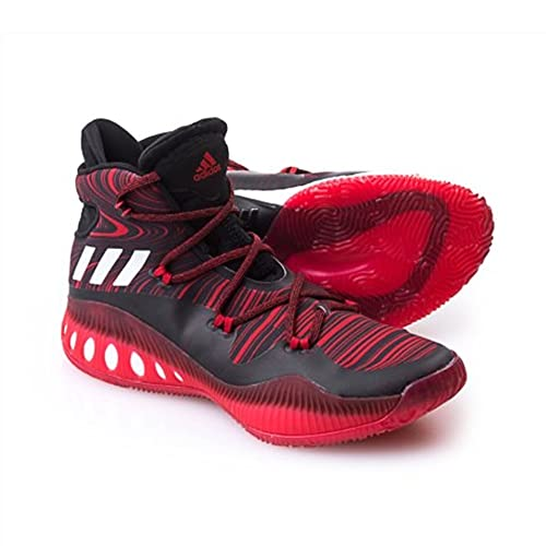 low priced 4a557 25e2e Adidas Performance Crazy Explosive - Zapatillas de Baloncesto para Hombre,  NegroEscarlata, 13