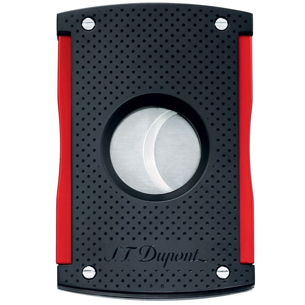 ST Dupont - Tagliasigari MaxiJet - Nero Soft Touch and Rosso Originale 3260 S.T. Dupont 003260