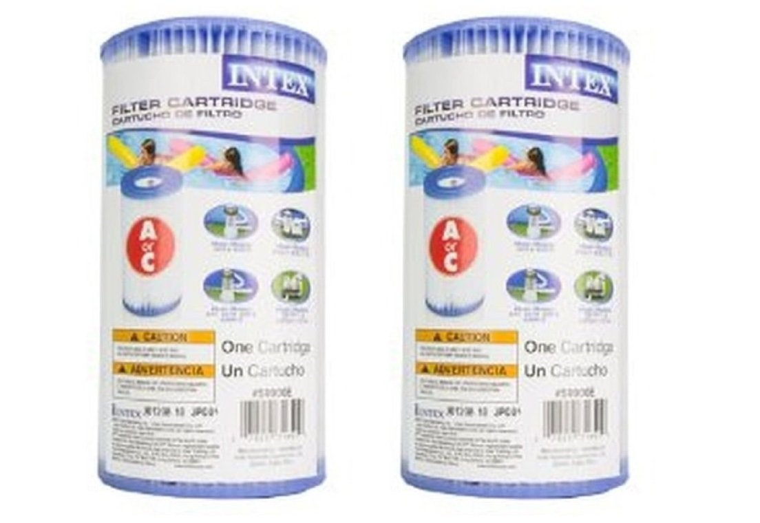 Intex 29000E/59900E Easy Set Pool F24Sd Replacement Type A or C Filter Cartridge - (Pack of 2) by Intex