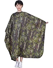 LWBTOSEE Camouflage Barber Capes Haircut Cape Waterproof Cloth Salon Hairdressing Cape Hairdresser Apron