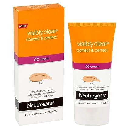 Neutrogena Visiblemente Clear correcta & perfecto CC Crema