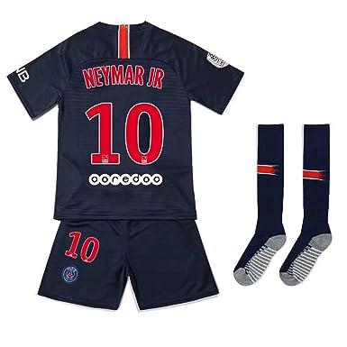 6fcd7eae35cf7 JDETAGEEQI Paris Saint Germain 2018/2019 Neymar JR 10# Youths/Kids Home  Soccer