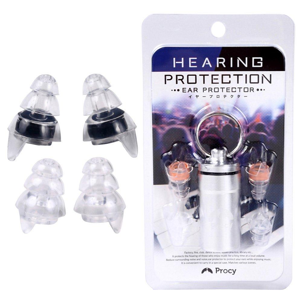7位.プロシー 耳栓ライブ用イヤープロテクター