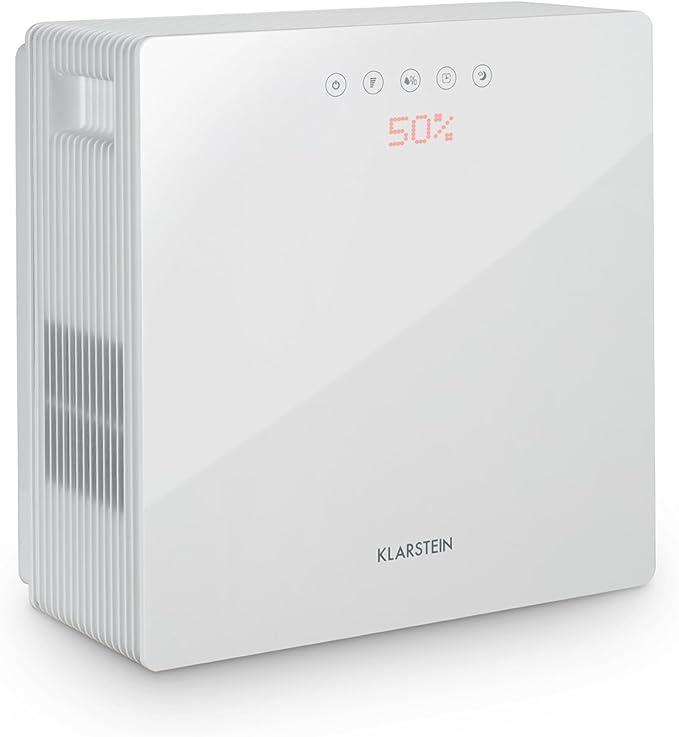 Klarstein PurePal - Purificador de aire, Humidificador, Filtrador ...