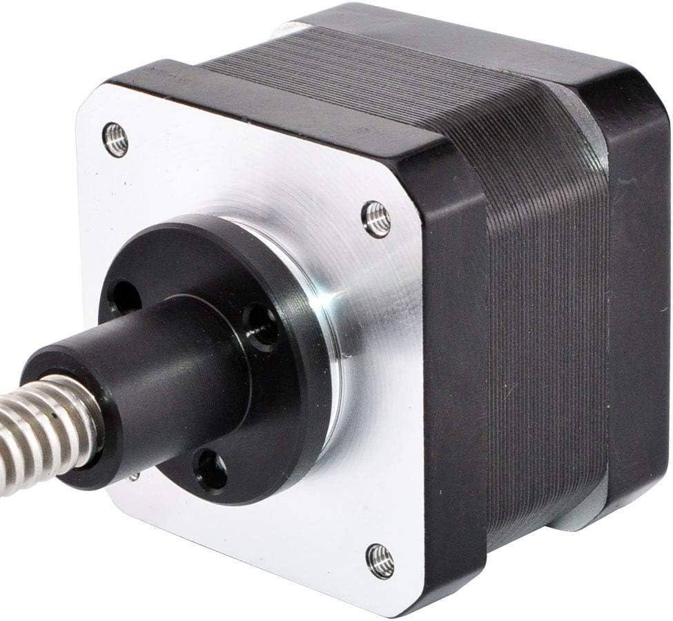 Nema 17 Stepper Motor Linear Actuator 0.4A Lead Screw Length 300mm 3D Printer