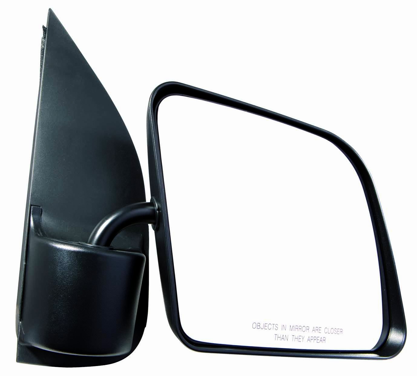 for 1992 1993 1994 1995 1996 1997 1998 1999 2000 2001 2002 2003 2004 2005 2006 2007 Ford Ecoline Van Manual Side Mirror Driver Side Replacement