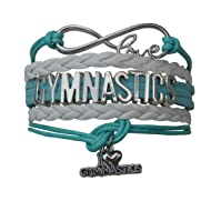 Infinity Collection Gymnastics Bracelet- Girls Gymnastics Bracelet- Gymnastics Jewelry for Gymnast