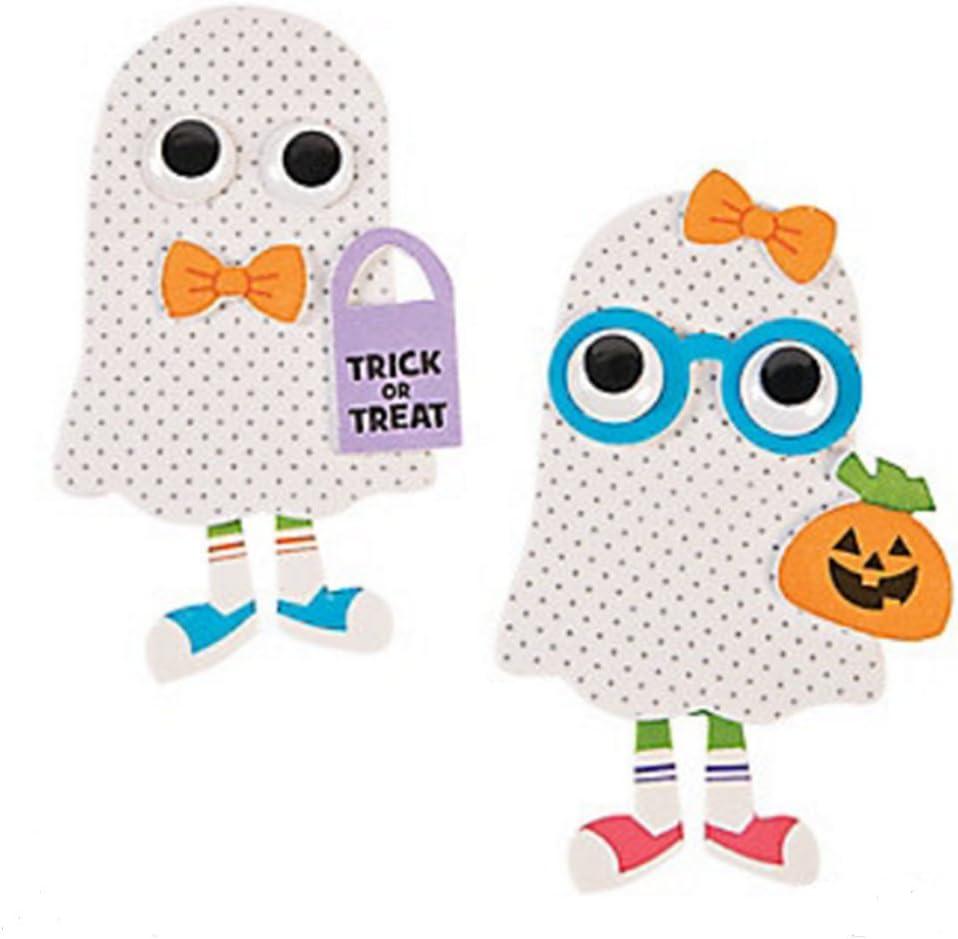 DG Shopping Spree Foam Ghost Kid Magnet Craft Kit (Makes 12)