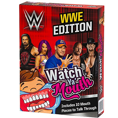 Watch Ya Mouth WWE Edition Party Card Game by Watch Ya Mouth