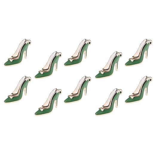 B Baosity Colgantes de Zapatos en Miniatura Tacón Alto ...