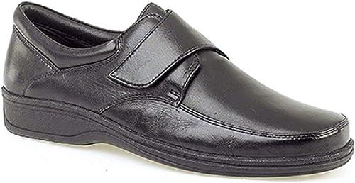 Mens Black Super Soft Leather