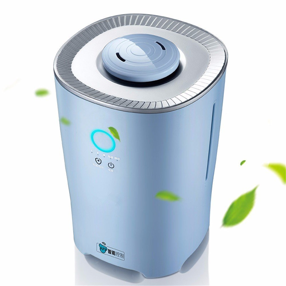 DIDIDD Humidifier intelligent home quiet bedroom purification humidifier lights