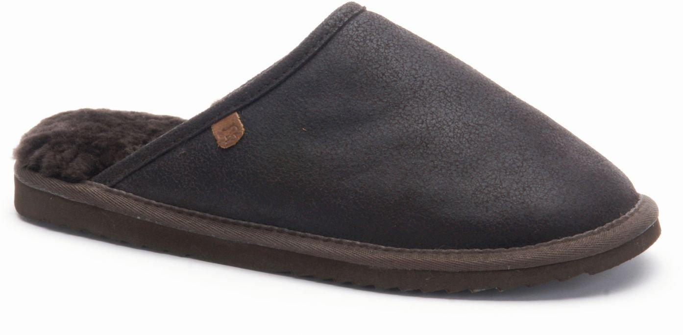 Classic Unisex grain leather, black, Größe 44 Warmbat