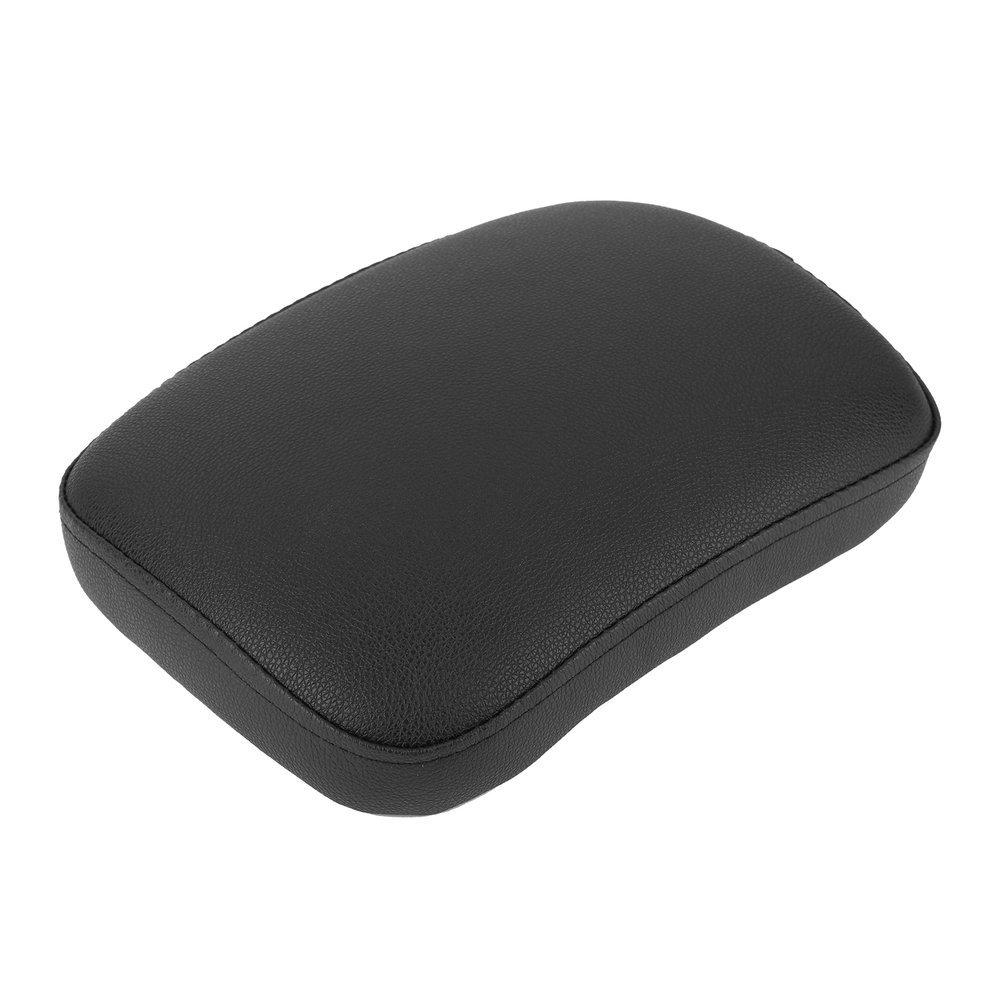 Coussin de si/ège de passager arri/ère de moto 6 accessoires de moteur de couvercles daspiration couleur: noir