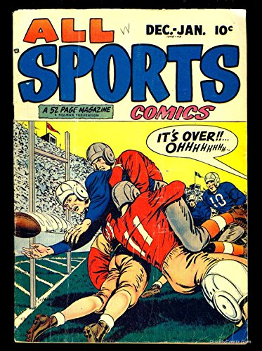 All Sports Comics #2 VG- 3.5